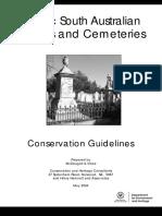 Graves Cemeteries S. Austr. Conservation Guidelines