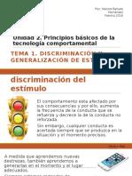 Discriminación y Generalización de estímulos_2016