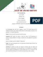 Hamly Alvarez El Viacrucis de Un No Nativo