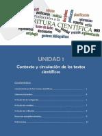 M1 Contexto y Circulación de los textos científicos Complementario