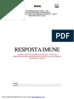 Atividade Orientada - Resposta Imune
