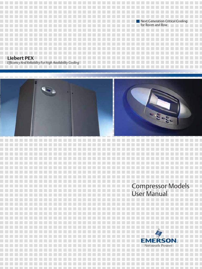 Liebert PEX Compressor Models User Manual AP11ENT – Liebert Ds Wiring-diagram