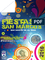 Fiestas de San Marcos 2016