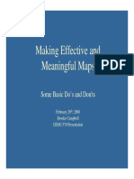 Making Effective Maps