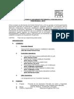 P. O. N° 045- PIROTECNICO-2015