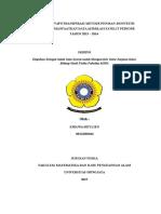 Analisis Evapotranspirasi Metode Penman