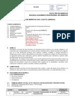 Ciclo III - Malla B - Derecho Civil II Acto Juridico 2016-I