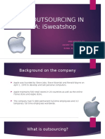 apple outsourcing in china