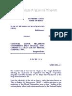 Ilaw at Buklod Ng Manggagawa (IBM), Vs. NLRC, G.R. No. 91980, June 27, 1991