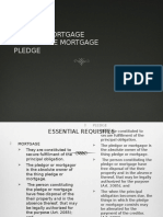 Mortgage and Pledge- legal forms