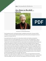 Intervista a Bernadette Roberts