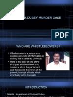 satyendra dubey murder case