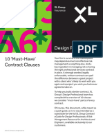10 Must Have Contract Clauses