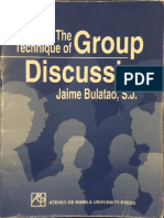The Technique of Group Discussion.pdf