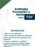 Actitudes y Disonancia. ( Imprimir ) Tema 5