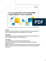 IBM Cognos Mobile Successfully Deploy in Your Enterprise