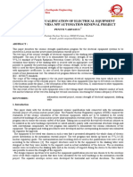 Electrical Substation Seismic Standards