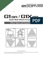 E G1on G1Xon FX-list