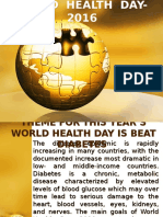 WORLD HEALTH DAY- 2016.pptx