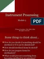 instrument processing