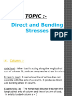 Direct & Bendng Stress.pptx