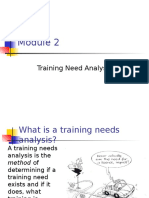 MODULE 2 Training Need Analysis