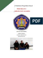 Praktikum 4 2A-D4 TE Praktikum Pengolahan Sinyal ( Amirah Nisrina, Hadian Ardiansyah, Kholid Bawafi) Yulianto