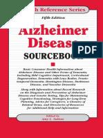 Amy L. Sutton Alzheimer Disease Sourcebook, 5th Edition    2011.pdf