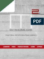 MetreKarre Catalogue 2016