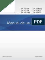 Manual Samsung Note 4 Marshmallow