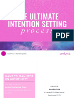 The Ultimate Intention Setting Process Sarah Prout 9482 Science
