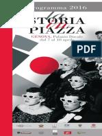 La Storia in Piazza 2016, il programma