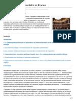 Chevaliersdesgrandsarrets.com-Lopposition Parlementaire EnFrance