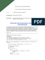 Resolucion de Ecuaciones VB 6.0
