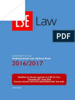 LLB Options Book 16-17 LSE
