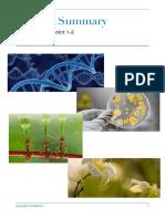 Biology Dot Point Summary