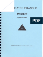 Flying Triangle Mystery