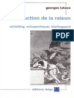 Lukács, Georges - La Destruction de La Raison