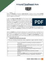 ASEAN grade 11 Lesson plan