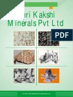 Shri Kakshi Minerals Pvt Ltd.Telangana India