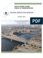 RIDOT Bridge Inspection Manual