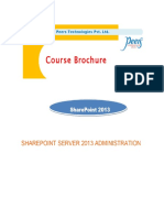 Peers SharePoint 2013 Administration
