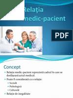 Relatiile medic pacient