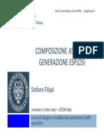 DMGM 07 Composizione Assiemi e Generazione Esplosi 2014-15