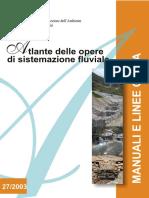 Atlante Delle Opere de Sistemazione Fluviale