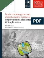 Iran Return to Oil Map