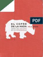 126696229 Felix Duque El Cofre de La Nada