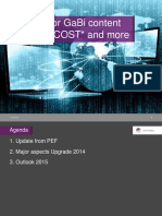 2 - GaBi CW 2015 - Updates From Product Environmental Footprint PEF and GaBi Content