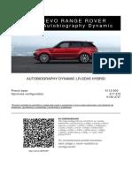 Lr Sport Hybrid
