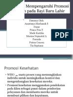 Faktor yang Mempengaruhi Promosi Kesehatan pada Bayi Baru.pptx